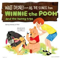 Winnie the Pooh and the Honey Tree Colonna sonora (Buddy Baker, Richard M. Sherman, Robert M. Sherman) - Copertina del CD