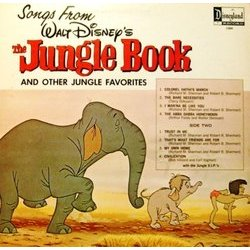 The Jungle Book Soundtrack (Various Artists, George Bruns) - CD Achterzijde