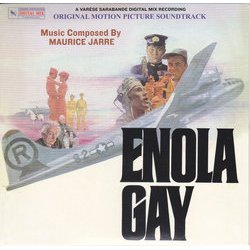 Enola Gay Soundtrack (Maurice Jarre) - CD cover