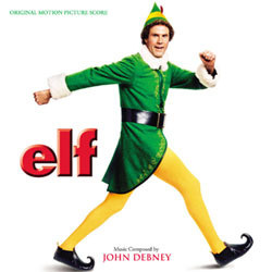 Elf Soundtrack (John Debney) - CD cover