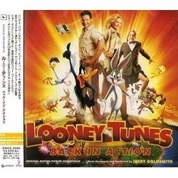 Looney Tunes: Back in Action Soundtrack (Jerry Goldsmith) - CD cover