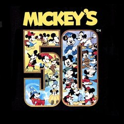 Mickey's 50th Bande Originale (Various Artists) - Pochettes de CD