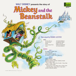 Mickey And The Beanstalk Colonna sonora (Various Artists) - Copertina posteriore CD