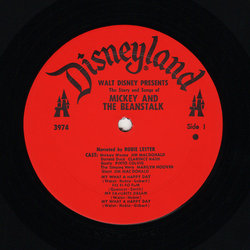 Mickey And The Beanstalk Colonna sonora (Various Artists) - cd-inlay