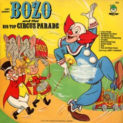 Bozo And The Big Top Circus Parade Soundtrack (Various Artists) - CD-Cover