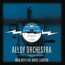 The Man with the Movie Camera Soundtrack (Benjamin Booker) - CD cover
