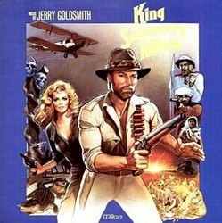 King Solomon's Mines Soundtrack (Jerry Goldsmith) - CD cover