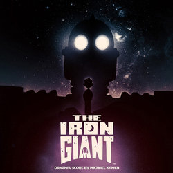 The Iron Giant Soundtrack (Michael Kamen) - CD-Cover