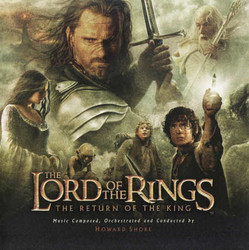 The Lord of the Rings: The Return of the King Soundtrack (Howard Shore) - CD cover