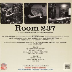Room 237 声带 (William Hutson, Jonathan Snipes) - CD后盖