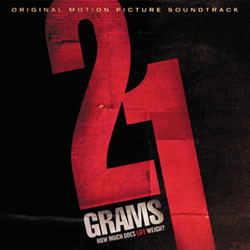 21 grams Soundtrack (Various Artists, Gustavo Santaolalla) - CD-Cover