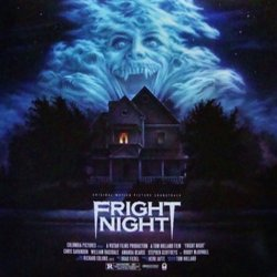 Fright Night Soundtrack (Various Artists, Brad Fiedel) - CD cover