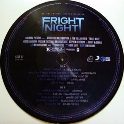 Fright Night Soundtrack (Various Artists, Brad Fiedel) - cd-inlay