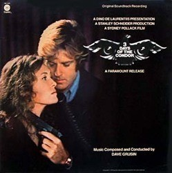 3 Days of the Condor Soundtrack (Dave Grusin) - Car�tula