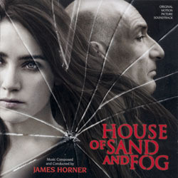 House of Sand and Fog Soundtrack (James Horner) - CD cover