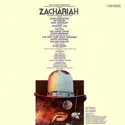 Zachariah Soundtrack (Various Artists, Jimmie Haskell) - CD Trasero