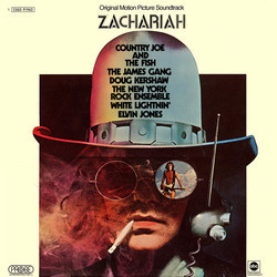 Zachariah Soundtrack (Various Artists, Jimmie Haskell) - Carátula