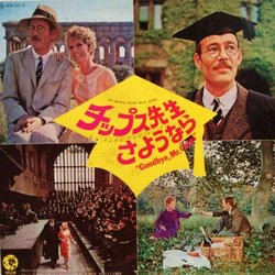 Goodbye, Mr Chips Soundtrack (Various Artists, Leslie Bricusse, John Williams) - CD cover