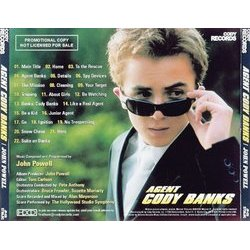 Agent Cody Banks Colonna sonora (John Powell) - Copertina posteriore CD