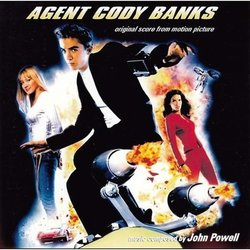 Agent Cody Banks Colonna sonora (John Powell) - Copertina del CD