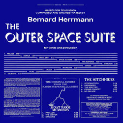 The Outer Space Suite / The Moat Farm Murders / The Hitchiker Soundtrack (Bernard Herrmann) - CD Trasero