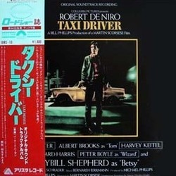 Taxi Driver Soundtrack (Bernard Herrmann) - CD cover