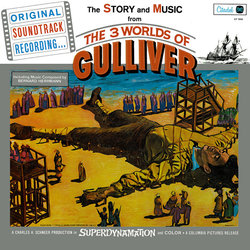 The 3 Worlds of Gulliver Soundtrack (Bernard Herrmann) - Carátula