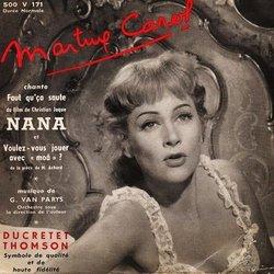 film music site nana soundtrack martine carol georges