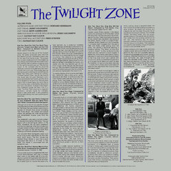The Twilight Zone - Volume Four Soundtrack (Various Artists) - CD Trasero