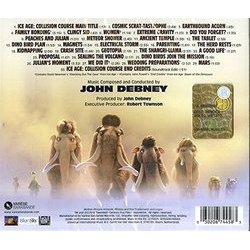 Ice Age: Collision Course Soundtrack (John Debney) - CD Trasero