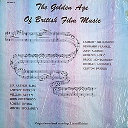 The Golden Age of British Film Music Soundtrack (Various Artists) - Carátula