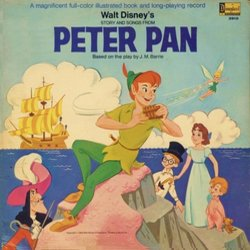 Walt Disney's Story And Songs From Peter Pan Soundtrack (Oliver Wallace) - CD cover