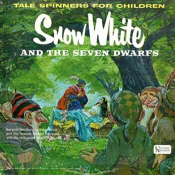 Snow White and the Seven Dwarfs Soundtrack (Various Artists, Frank Churchill, Leigh Harline, Paul J. Smith) - CD cover