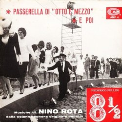 8½ Soundtrack (Nino Rota) - CD-Cover