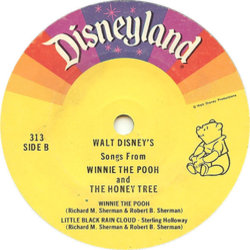 Winnie the Pooh and the Honey Tree Soundtrack (Various Artists, Buddy Baker) - CD-Inlay