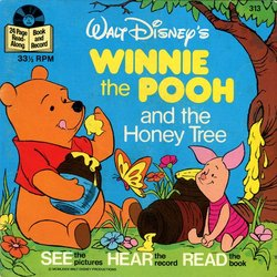 Winnie the Pooh and the Honey Tree Soundtrack (Various Artists, Buddy Baker) - CD-Cover