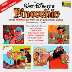 Pinocchio 声带 (Various Artists, Cliff Edwards, Leigh Harline, Paul J. Smith) - CD后盖