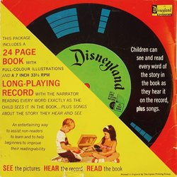 Pinocchio Soundtrack (Leigh Harline, Paul J. Smith) - CD Back cover