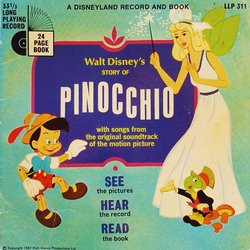 Pinocchio Soundtrack (Leigh Harline, Paul J. Smith) - CD cover