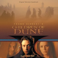 Children of Dune Soundtrack (Brian Tyler) - CD cover