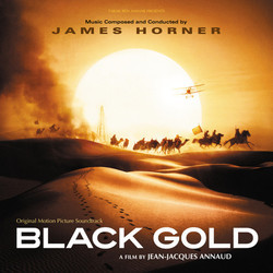 Black Gold Soundtrack (James Horner) - Carátula