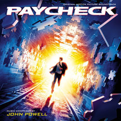 Paycheck Soundtrack (John Powell) - CD cover