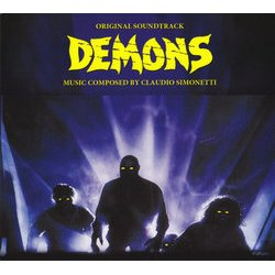 Demons Soundtrack (Claudio Simonetti) - CD cover