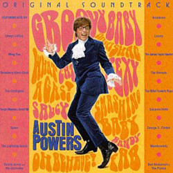 Austin Powers: International Man of Mystery Soundtrack (Various Artists, George S. Clinton) - Carátula