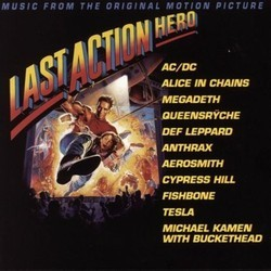 Last Action Hero Soundtrack (Various Artists) - CD cover