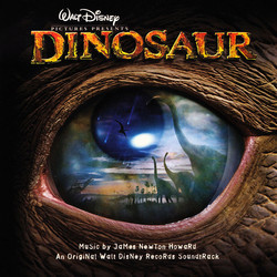 Dinosaur Soundtrack (James Newton Howard) - Carátula