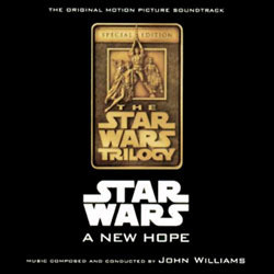 Star Wars: A New Hope Soundtrack (John Williams) - CD cover