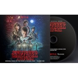 Stranger Things: Volume One Soundtrack (Kyle Dixon, Michael Stein) - CD-Inlay