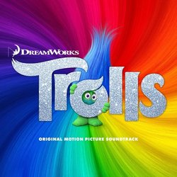 Trolls Soundtrack (Various Artists) - CD cover