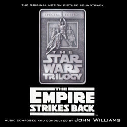 Star Wars: The Empire Strikes Back Soundtrack (John Williams) - CD cover
